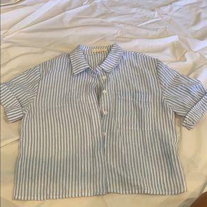 Pacsun Button Down Striped Shirt
